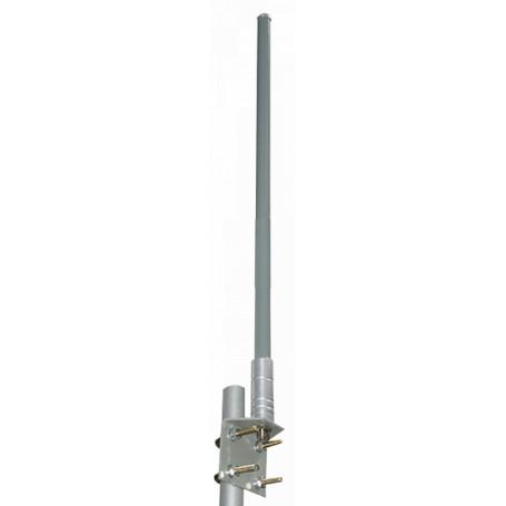 Omni exterior L-COM HG5412U HG5412U - L-COM 5,4GHz 5470-5725MHz 12dBi 6º Antena Omnidireccional N-Hembra