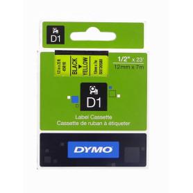 45018 -DYMO 12mm Negro en...