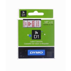45015 -DYMO 12mm Rojo en...
