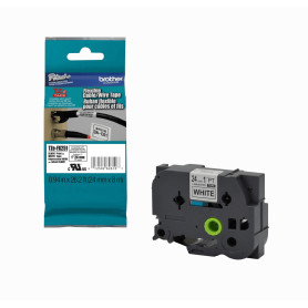 TZE-FX251 -BROTHER Flex 24mm Negro en Fondo Blanco Cinta 8mt p/PT-9700PC/E550WVP