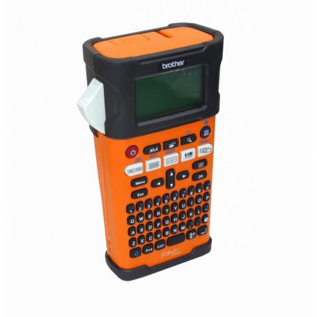 Rotuladora profesional Brother PT-E300VP PT-E300VP -BROTHER no-USB Bat-Interna/6-AA QWERTY 3,5-18mm TZ/HS Rotuladora