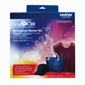 CARSKIT1 -BROTHER Kit de Pedreria ScanNcut2 para Plotter Corte Rhinestone