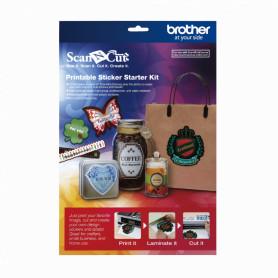 CAPSKIT1 -BROTHER Kit de Inicio Sticker ScanNcut2 para Plotter Corte 100-Modelos