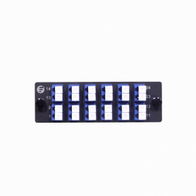 35488 -FS Azul 12-LC-DX 24-LC Placa 109x35mm FHD-FAP12LCDXSMF inc-Coplas-44mm