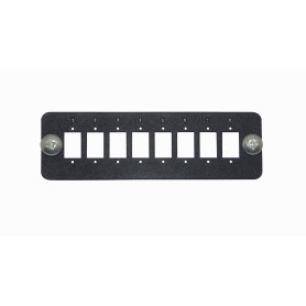 CL-3P -8-SC-SX 8-LC-DX Placa 130mm para 1U-3P req-Coplas