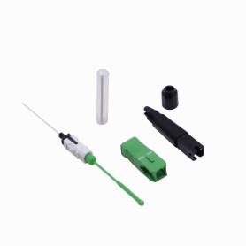 CFAS-SPLICE -SC/APC SM Splice-On Monomodo Conector Fibra para Fusionadora