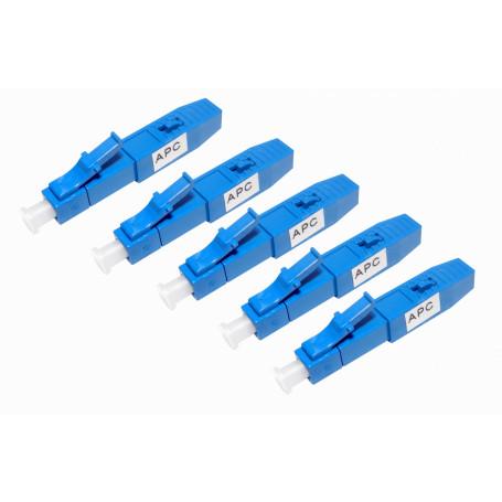 Conector Fibra Optica Fibra CFLAR-05 CFLAR-05 -LC/APC SM 5-un Conector Rapido MonoModo PACK-5-UNIDADES SX