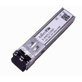 S-85DLC05D -MIKROTIK 2-LC MM 550mt 850nm Modulo SFP 1,25gbps Gigabit Fibra Optica