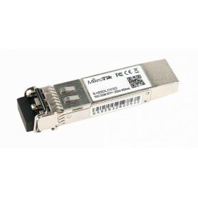 S+85DLC03D -MIKROTIK 2-LC 10G MM 300mt 850nm Modulo SFP+ Fibra MultiModo 10gbps