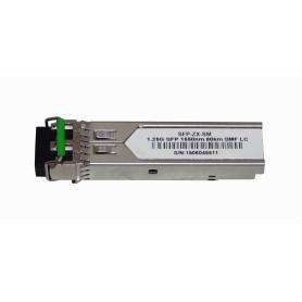 S-LC80D -SM 2-LC 80Km 1550nm Modulo SFP 1.25Gbps Gigabit Fibra Optica