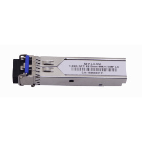 S-31DLC40D -SM 2-LC 40Km 1310nm Modulo SFP 1.25Gbps Gigabit Fibra Optica