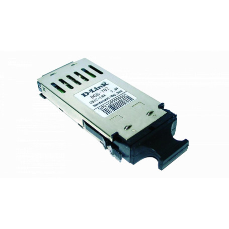 Conversor SM monomodo Dlink DGS-702 DGS-702 -D-LINK 1000MBPS LX 2KM MonoModo SingleMode Modulo GBIC LC