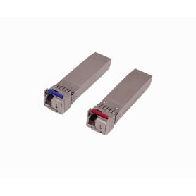 UF-SM-10G-S -UBIQUITI ParWDM-BiDi SFP+ SM 10Gbps 10km 1270/1310nm MonoMod 1-FibraLC