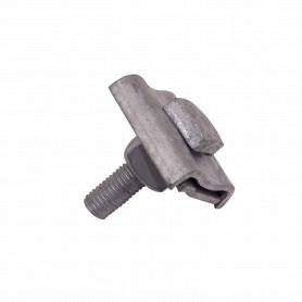GTL00030 -Brida 1-Perno-Cuadrado5/8 50x50x9x15mm para Mensajero Poste