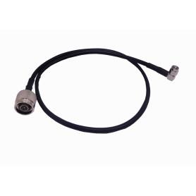 CA-SMRNMA002 -60CM .SMA-MACHO (90G) N-MACHO 195 CABLE COAXIAL NEGRO