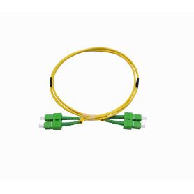 JFSAA1 -1mt SC/APC-SC/APC MonoModo SM Duplex Jumper Cable Fibra 9/125um