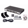 100 Semi-admin Smart Dlink DES-1210-28 DES-1210-28 -D-LINK 24-100 2-1000 2-SFP-Combo Switch Smart Rack 28-puertos 220V