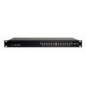 ES24-500W -UBIQUITI EDGE 400W-tot 24-1000-PoE24/48AF/52AT 2-SFP ADMIN-L3 DHCP