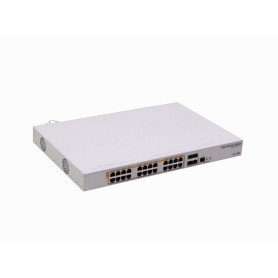 CRS328-24P-4S+RM -MIKROTIK 4-SFP+10G 24-1000-PoE RS232-RJ45 Switch/Layer3-Router Rack L5