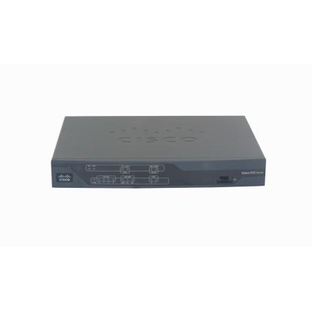 ATA Gateway Cisco CISCO887V-SEC-K9 CISCO887V-SEC-K9 -CISCO Router RJ12-VDSLoPOTS RJ45-BRI 4-100 Console-AUX inc12V opc48V