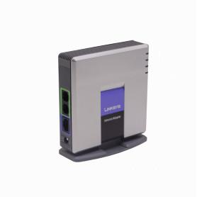 PAP2T-NA -LINKSYS 1-LAN-RJ45 2-FXS-RJ11 SIP ATA Basico inc5V/2A Plug-5,5x2,1mm