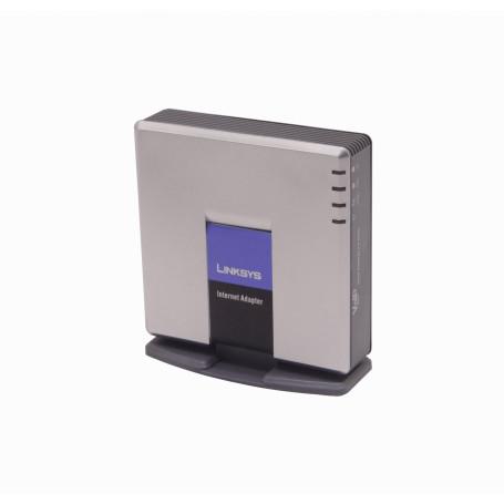 ATA Gateway Linksys SPA3000 SPA3000 LINKSYS ATA 1-100-WAN/LAN 1-FXO-RJ11 1-FXS-RJ11 inc-5V-5,5x2,1mm