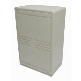 BOX100PAIR -100-Pares 10-KRONE Caja Box-III Vacia inc-Soporte 10-Regletas