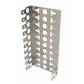FRAME100P -100-Pares 22mm 10-KRONE Soporte Metalico Base 10-Regletas