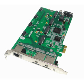 AXE-2G4AN -ATCOM PCIe-x1 2-GSM-SIM 4-FXO/FXS 3.3/5V 32BIT TARJETA ASTERISK 2-GSM