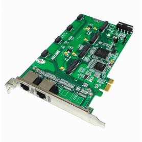 AXE800PN -ATCOM PCIe-x1 8X 2-RJ45 REQ-AX210 3.3/5V 32BIT TARJETA ASTERISK