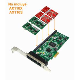 AXE400PL -ATCOM PCIe-x1 4X...