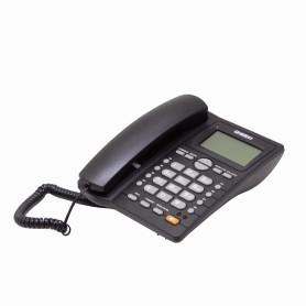 AS7412 -UNIDEN Telefono Analogo LCD-no-ilum 1-RJ11 Sobremesa req/2-AA Altavoz