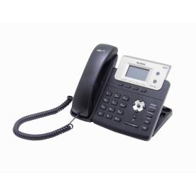 T21PE2 -YEALINK 2-SIP 2-LAN inc5V3W PoE RJ9/2,5mm-Audif Pant-ilumi Telefono IP