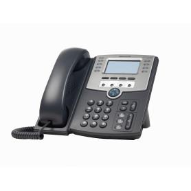 SPA509G -CISCO 12-SIP 2-LAN S/TRAFO-PA100 POE-AF 2.5MM MONOCROMAT TELEFONO IP