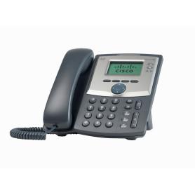 SPA303-G2 -CISCO 3-SIP 2-LAN inc/Fuente-Poder no-PoE 2,5mm Monocromat Telefono IP