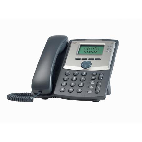 Telefono IP Cisco SPA303-G2 SPA303-G2 -CISCO 3-SIP 2-LAN inc/Fuente-Poder no-PoE 2,5mm Monocromat Telefono IP