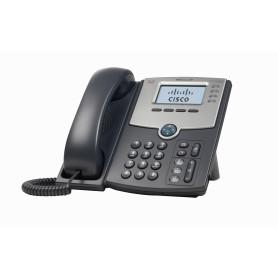 SPA504G -CISCO 4-SIP 2-LAN S/TRAFO-PA100 POE-AF 2.5MM MONOCROMAT TELEFONO IP