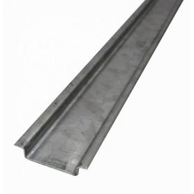 DIN-35-1 -Carril 100cm 1mt Riel DIN 35mm Simetrico Zinc para-Automatico