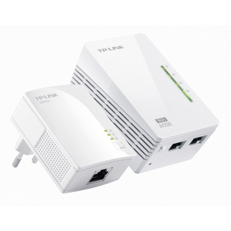 Powerline TP-LINK TL-WPA2220KIT TL-WPA2220KIT -TP-LINK WPA2220-WIFI-N300/2-100 + PA2010-200MBPS/1-100 KIT POWERLINE