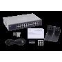 100 No administrable Cisco SF110-24 SF110-24 CISCO 24-100 Switch no-Admin Rack 220V-directo