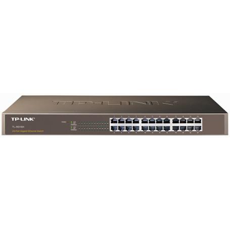 1000 no administrable TP-LINK TL-SG1024 TL-SG1024 -TP-LINK 24-1000 Ancho Gigabit Switch no-Administrable Rack