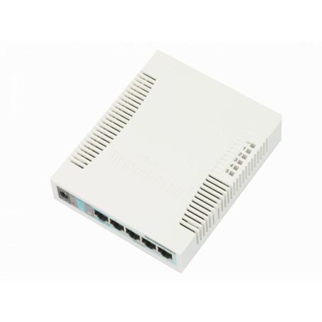 1000 Administrable Mikrotik RB260GS RB260GS MIKROTIK SWITCH 5-1000 1-SFP ATHEROS SWOS VLAN