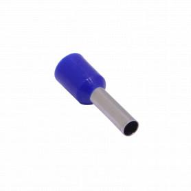 E2508-A -Azul 2,5mm2 8/15mm 100-unids AWG14 Ferrules Terminal Aislado Crimpeabl