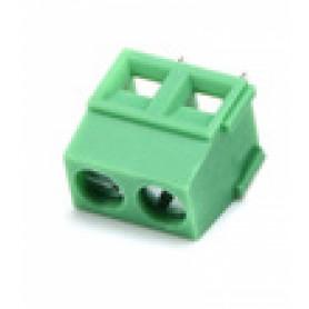REGLETA-2PV -Verde 16-Ampere 2Pin Regleta-Tornillo 300V-Max 16A-Max AWG22-14 5,08mm