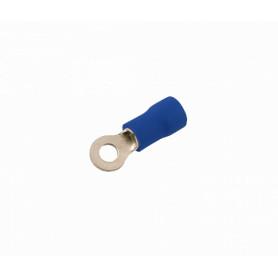 OJO-3225 -SUGO Ojo-3,2mm 1,5-2,5mm2-Cable 100-unids. Conector Azul Aislado PVC