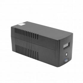 ESIT1000 - ENERSAFE 104WH 2x7Ah 1000VA 600W 4-C13 AVR USB 162-290VAC 2-6ms UPS