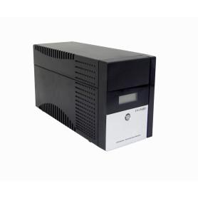 FX-1500LCD-C - FORZA 130WH 2x9AH 1500VA 840W 2-C13 4-IH-Chile 1-C14 AVR USB 2-RJ UPS