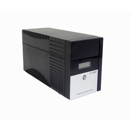 UPS interactiva Forza FX-1500LCD-C FX-1500LCD-C - FORZA 130WH 2x9AH 1500VA 840W 2-C13 4-IH-Chile 1-C14 AVR USB 2-RJ UPS
