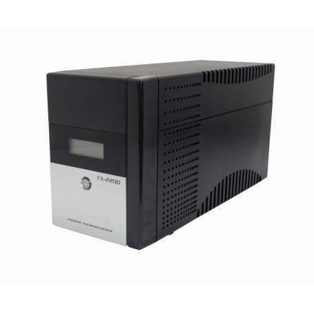 UPS interactiva Forza FX-2200LCD-C FX-2200LCD-C - FORZA 130WH 2x9AH 2200VA 1200W 2-C13 4-IH-Chile 1-C14 AVR USB 2-RJ UPS