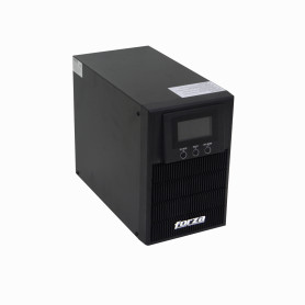 FDC-1002T-C -FORZA 130WH 2x9AH 1KVA 800W Online Torre LCD DB9-H USB 5-IH SNMP UPS